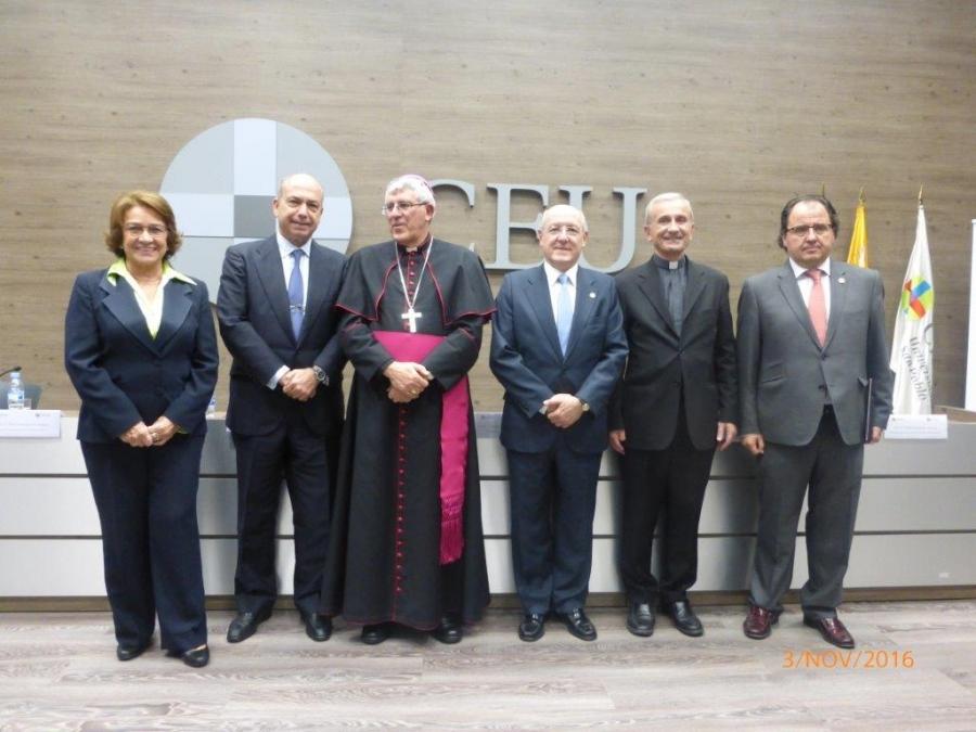 Acto de apertura del nuevo curso 2016-2017 del CEJC
