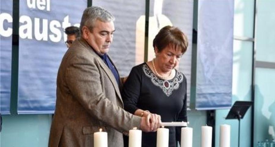 75 Aniversario de la liberación del campo de exterminio de Auschwitz